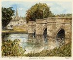 Bakewell Bridge by Philip Martin