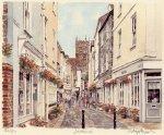 Dartmouth - Foss Street by Glyn Martin