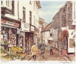 St. Ives - Fore Street by Glyn Martin