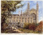 Cambridge - Clare College by Philip Martin