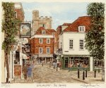 Winchester - Square by Glyn Martin