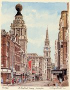 St. Martin's Lane by Glyn Martin