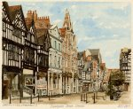 Chester - Eastgate Street by Philip Martin