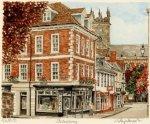 Shrewsbury - Street Scene by Glyn Martin