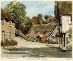 Shanklin - Old Village by Philip Martin