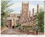 Wells- Vicar's Close by Glyn Martin