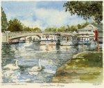 Caversham -Bridge by Philip Martin