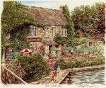 The Trout Inn by Glyn Martin