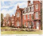 Newnham College by Philip Martin