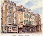 Oxford - Blackwell's Bookshop by Glyn Martin