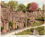 Bibury - Arlington Row by Glyn Martin