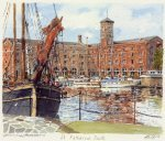 St. Katharine Docks by Philip Martin