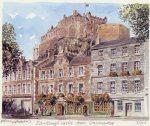 Edinburgh Castle from Grassmarket by Philip Martin