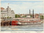 New Orleans - Mississippi Steam Boat
