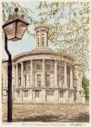 Philadelphia - Merchant's Exch by Glyn Martin