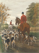 Evening Return To The Kennels by Edwin Douglas