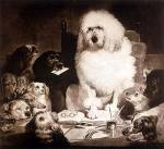 Laying Down The Law by Sir Edwin Henry Landseer