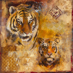 Wild Kingdom I by Georgie