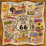 Route 66 by Karen Dupré