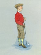 The Golfer by Simon Dyer
