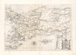 Il Disegno D'Geografia Moderna Della Provincia Di Natolia