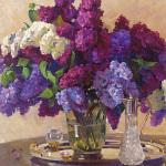 Lilac Cluster by Valeriy Chuikov