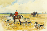 The York and Ainstay Hunt by Lionel Edwards