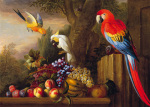 Parrots Of Paradise by Jacob Bogdany
