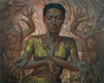 Hindu Dancer by Vladimir Tretchikoff