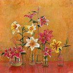 Lilies In Vases II by Danson