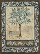 Fresco Botanica I by Jen Kirstein