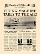 Flying Machine takes to the Air! by London Herald