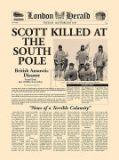 Scott Killed at the South Pole by London Herald