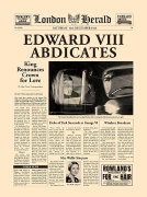 Edward VIII Abdicates by London Herald
