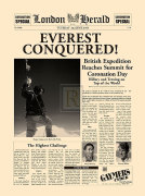 Everest Conquered (large) by London Herald