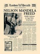Nelson Mandela Freed by London Herald