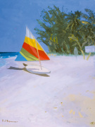 Barbados Beach II by Paul Brown