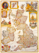 Map of Great Britain and Ireland c1730 by George Willdey
