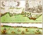 Oran 1740 by Georg Matthaus Seutter
