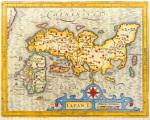 Japan 1616 by Petrus Bertius