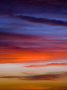 Malaysia Sunset Clouds - Right by Assaf Frank