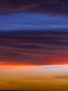 Malaysia Sunset Clouds - Left by Assaf Frank