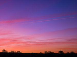 Haresfield Beacon Sunrise by Assaf Frank