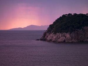 Island Purple Glow 2 by Assaf Frank