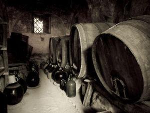 Old Wine Barrels by Assaf Frank