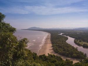 Shoreline, Borneo Malaysia by Assaf Frank