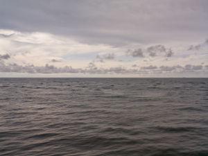 Sea against sky, Rasaria, Malaysia by Assaf Frank