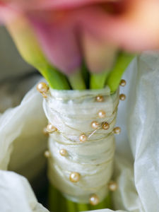 Calla lily flower arrangement, close-up by Assaf Frank