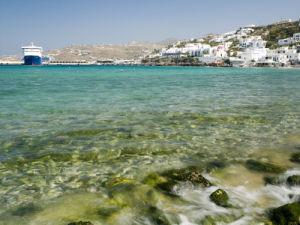 Sea, Mykonos Island by Assaf Frank