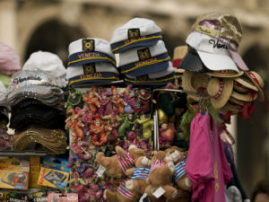 Souvenirs close-up, Venice by Assaf Frank